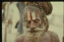071048 Sadhu Renuncient Varanasi Uttar Pradesh A4 Photo Print