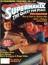 Souvenir-Postermagazin | Original 1987 | SUPERMAN IV | Christopher Reeve