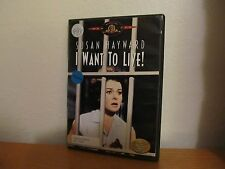 I WANT TO LIVE! DVD - I combine shipping