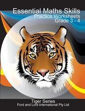 Tiger: Essential Maths Skills - Grade 3 -4 by Azwer Alam (2015, Paperback)