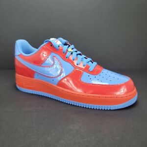 Air Force 1 Low Unlocked  Nike By You Custom Red UNC Blue  - Size 12