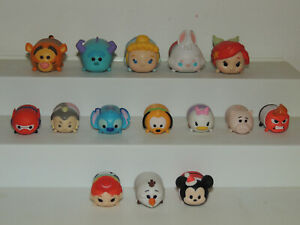 Lot of Assorted Disney Tsum Tsum Small Vinyl Character Figures - LOT