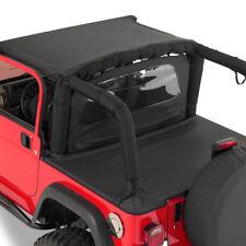 Smittybilt Wind Breaker Jeep Wrangler YJ TJ LJ 1976-2006 Black Diamond  90035
