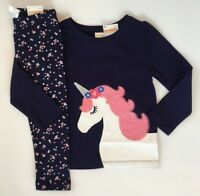 Gymboree Girls Unicorn Tee & Sparkle Leggings Size 18 24 2T 3T 4T 5T NWT NEW