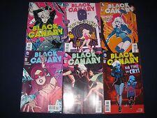 Black Canary 1-12 Full Run DC New 52 (2015-2016)
