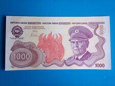 Yugoslavia 1000 dinara Tito 1990 - facsimile