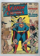 Action Comics #122 (Jul 1948, DC) *G copy.