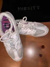 Varsity Zero Gravity Cheer Shoes Size 8 Style 87813 Cheerleading White Silver