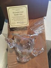 Lenox Collections Jeweled Crystal ButterFly Votive