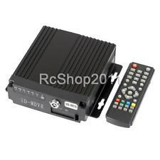 Mini 4CH Car Vehicle AHD Mobile DVR Realtime Video/Audio Recorder SD Card