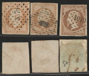 France Napoleon - Classic Used Stamps E450