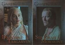 Game of Thrones Season 5 - 100 Card Parallel Foil Set