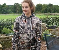 Percussion Wetlands Camo Wildfowling Hooded Pullover Sweatshirt Shooting Hoodie