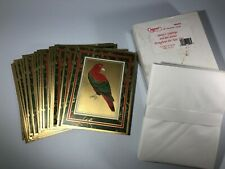 Beautiful Vintage Premier Greeting Cards for Christmas Holiday25 cards Whole Box