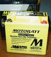 Motobatt 12V Motorcycle Battery Replaces YTX5L-BS YTZ6S YTZ7S  MBTZ7S