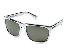 NEW Electric Knoxville XL Sunglasses-Black Chrome-Grey Lens-SAME DAY SHIPPING!