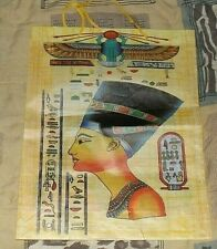 """Collectable Egyptian Tote - Durable & Waterproof Measures 12.5"""" x 13.5 x 3.5""""  A"""