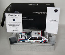 Autoart Lancia Delta S4 1986 Rally Argentina 1/18 Diecast Opening 88621 Boxed
