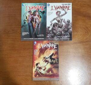 I, Vampire NEW 52 Vol 1 2 3 SET TPB GN OOP 2012 DC Comics Fialkov, Sorrentino