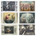 Antiquarian+Book+1850+Life+Of+Christ+John+Fleetwood+Illus.+Hand+Coloured+Plates