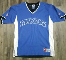 Vintage Champion Orlando Magic NBA Basketball Shooting Warmup Shirt MENS Medium