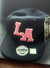 Black LA Los Angeles Baseball Cap by Headline Brand New With Tags
