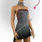 Sparkle Ice Figure Skating Dress/Baton Twirling Costume/Ballroon Dance Dress