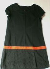 robe MISS CAPTAIN taille 44, tissu lourd, manches courtes, occasion