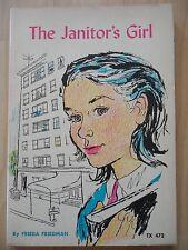 JANITOR'S GIRL~Frieda Friedman~MARY STEVENS~1974 PB~Moving~NEW APARTMENT HOUSE~