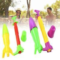 Outdoor Toy Jump Jet Launcher Water Power Rocket Intelligent Physics L3B5