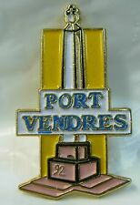 Port Vendres used Hat Lapel Pin Tie Tac HP1095