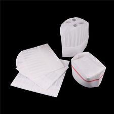 Disposable Cook Adjustable Men Kitchen Baker Chef Fabric Paper Cap Hat CateringJ