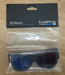 GoPro 3D Glasses. New and unopened. Official GoPro Accessory - 5 pack