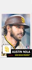 Topps Baseball Living Set Rookie Card San Diego Padres Austin Nola #361