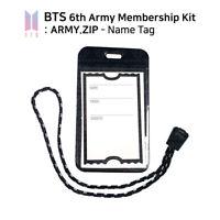 BTS Bangtan Boys - 6th Army Official Goods - NAME TAG