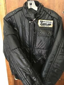 Men's Retro Racing Jacket - Black - Bendix Brake Trans Am Racing Series