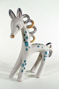 Fifties Keramik TIERFIGUR ° xxl Walter Bosse Groteske