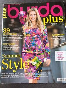 Burda plus F/S 2013 Zeitschrift Nähen