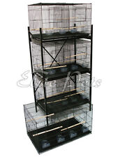 Bird Cage Finch Budgies Parrotlet Love Bird Breeding Cage Small A38 Black