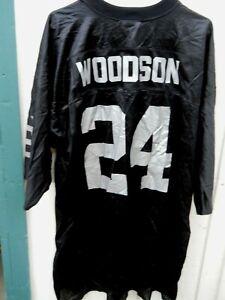 OAKLAND RAIDERS CHARLES WOODSON # 24  FOOTBALL JERSEY SZ MEN'S XX-LARGE BY PUMA