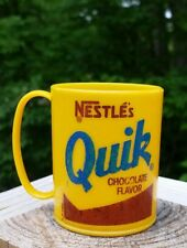 NESTLE'S QUIK PLASTIC CUP Vintage Advertising Promotional Scoop Cup Mug