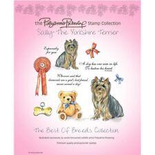 Pollyanna Pickering Sally el Yorkshire Terrier Juego de Sellos Transparentes
