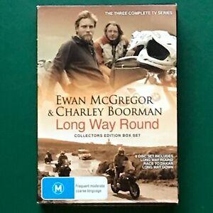 Ewan McGregor & Charley Boorman Long Way Around 3 Complete TV Series DVD