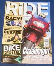 RIDE MAGAZINE MAY 1998 - CHAAARRGE!