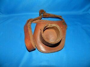 Leather Fishing Fighting Belt Belt & Buckle