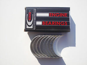 FOR FIAT 2.0 20V BRAVA BRAVO COUPE MAREA BIG END SHELL BEARINGS CONNECTING ROD