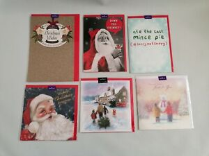HALLMARK - COLLECTION OF CHRISTMAS CARDS - TRADITIONAL - HUMOUR - SANTA CLAUS