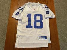 NFL Indianapolis Colts Peyton Manning #18 Youth Size Medium