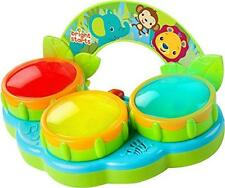 Bright Starts Baby Fun Drum Melody Mode Kit Set Flash Light-Up Sounds Multicolor