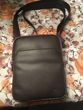 LACOSTE Men's Gaël Small Flat Zip Bag, Crossbody bag Original!